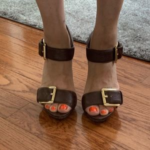 Michael Michael Kors brown sandals 7US